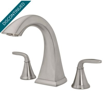 Rustic Pewter Ashfield Widespread Bath Faucet  GT49YP0E