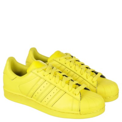 adidas Pharrell Williams Superstar Supercolor Men39s Yellow