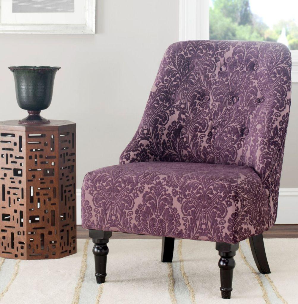 damask accent chair pp company safavieh 37 amondi tufted evine 461 054