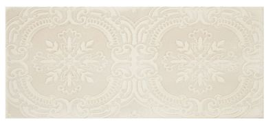chantilly biscuit tulle ceramic subway wall tile 4 x 10 in