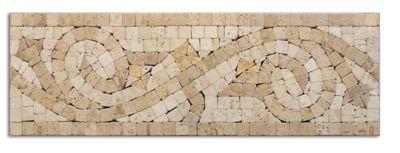 portofino listello travertine wall tile 4 x 12 in