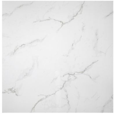 calacutta bianco gloss porcelain wall and floor tile 24 in