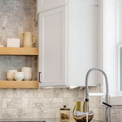 Wall Tile Kitchen Island Stools Backsplash The Shop A Classic Brick Pattern Always Looks Great But There Are So Many Ways To Play With Patterns In Your Layout Try Flipping On Its Head