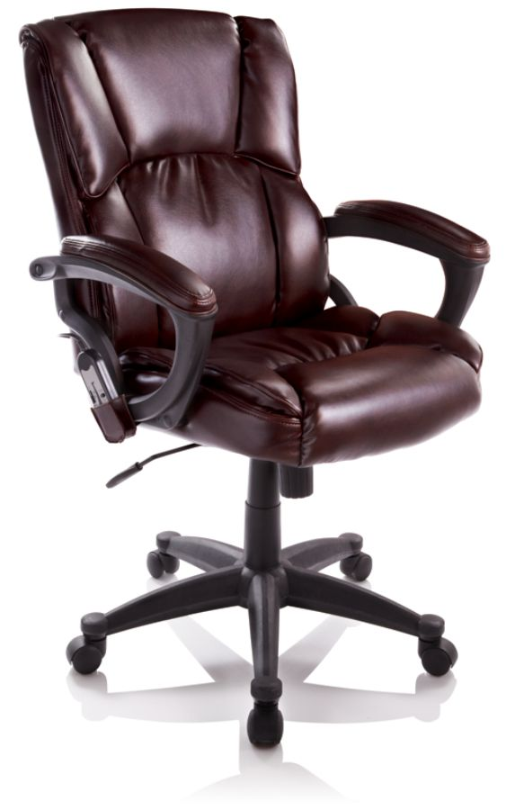 True Innovations Mid Back Bonded Leather Massage Chair 41