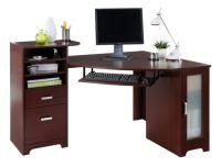 Bradford Corner Desk Cherry by Office Depot & OfficeMax