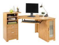 Bradford Corner Desk Oak by Office Depot & OfficeMax