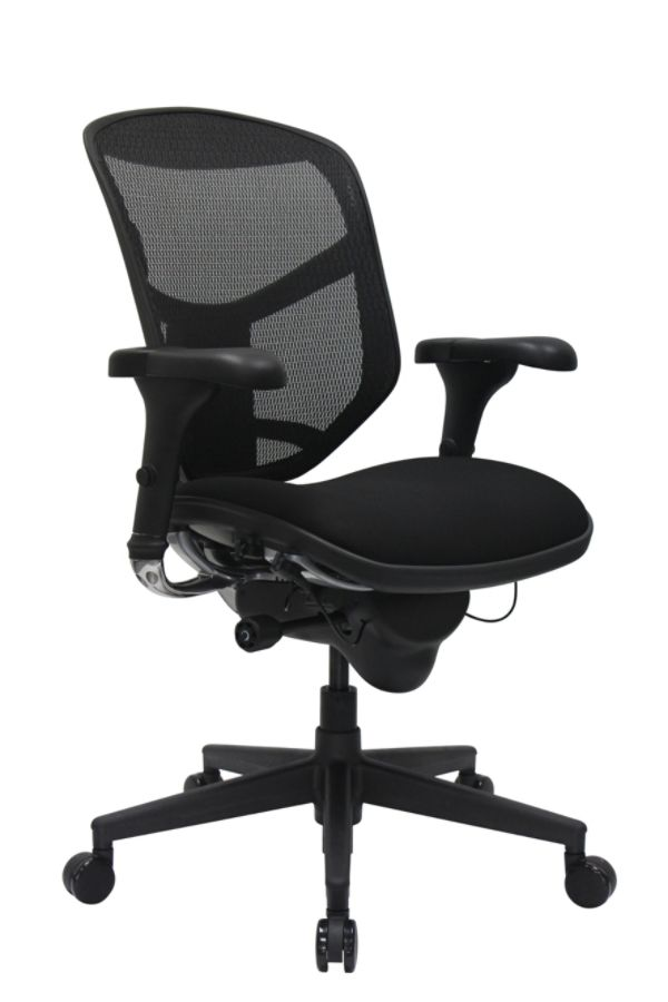 office depot mesh chair red metal workpro quantum 9000 series ergonomic mid back meshfabric black by & officemax
