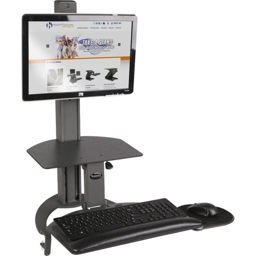 HealthPostures TaskMate Desktop Computer Standing Desk by