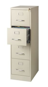 OfficeMax Commercial Letter Size Vertical File Cabinet, 4