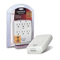 Belkin Wall Mount Surge Protector 6 Outlets 1045 Joules by ...