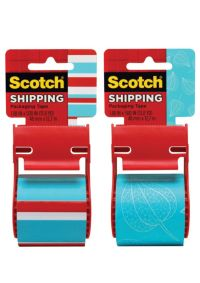 Scotch Decorative Shipping And Packaging Tape With ...