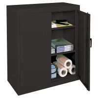 Realspace 42 Steel Storage Cabinet With 2 Adjustable ...