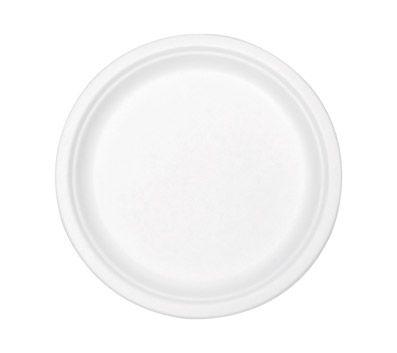 Stalkmarket Compostable Tableware 7 Plate White 420Carton