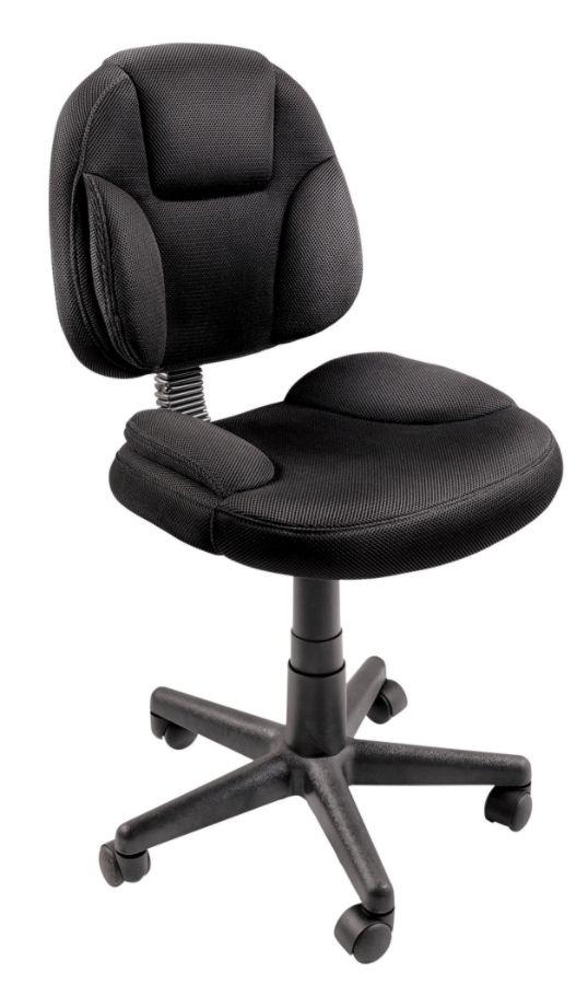 brenton studio task chair ergonomic scoliosis battista mesh fabric black by office depot & officemax