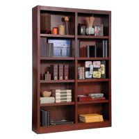 Concepts In Wood Double Wide Bookcase 10 Shelves Cherry by ...