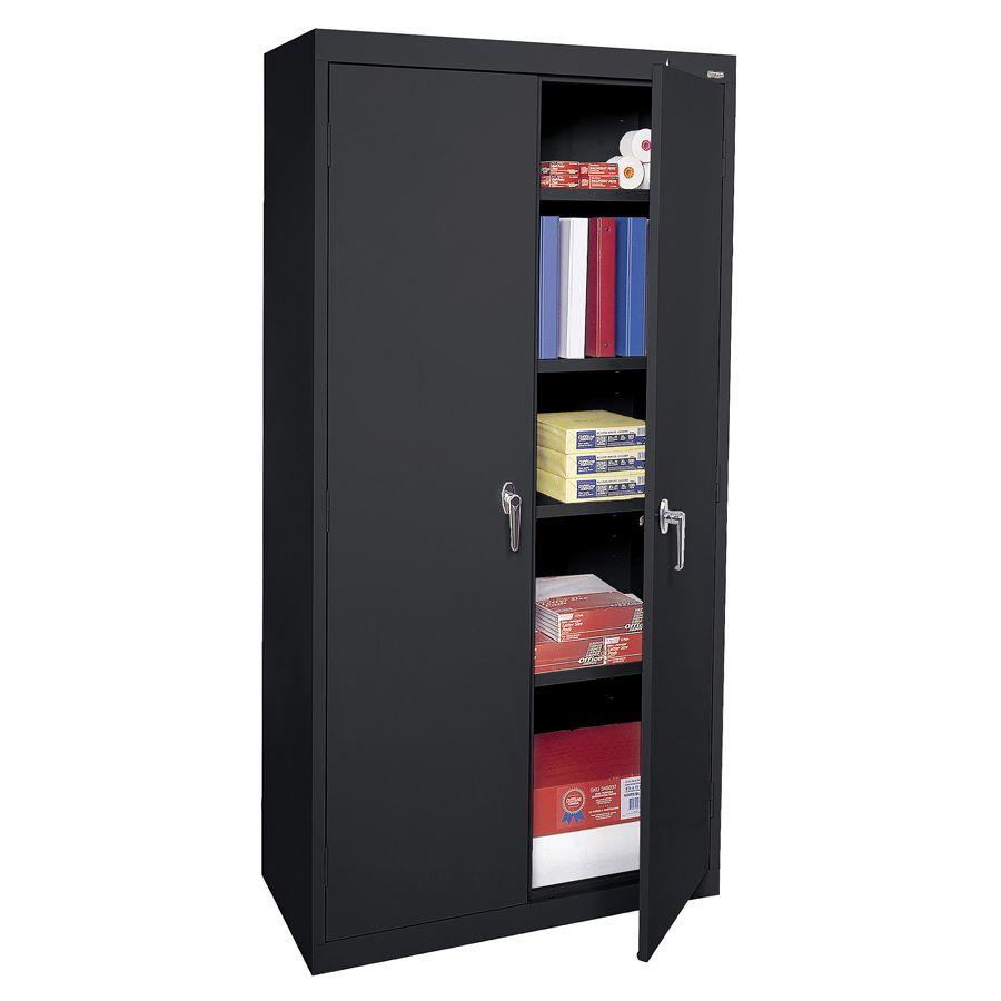 Sandusky 72 Steel WeldedAssembled Storage Cabinet With 4