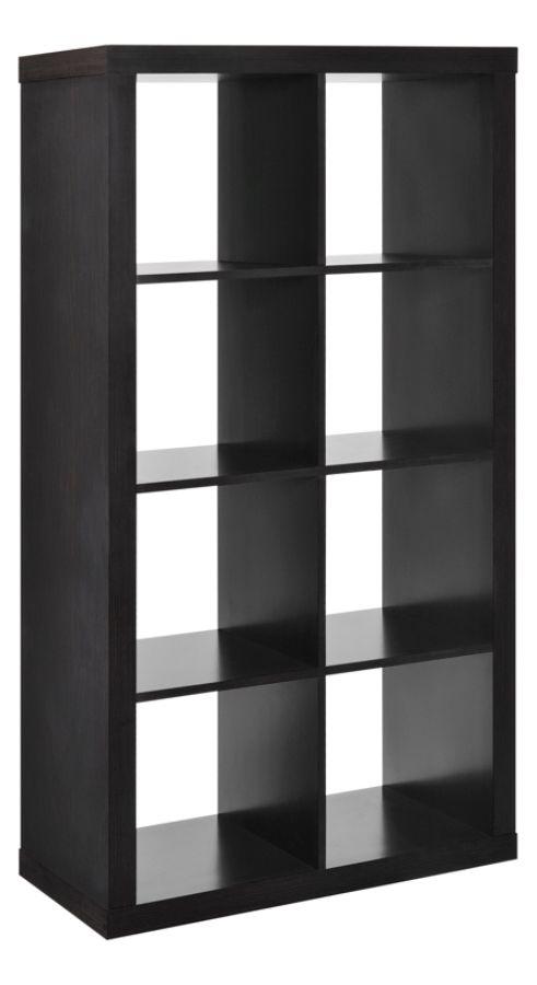 Altra 8 Cube Bookcase Room Divider Espresso by Office
