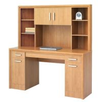 Office Depot Brand State Street Corner Desk With Hutch 62 ...