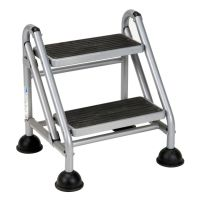 Cosco Rolling Commercial Step Stool 2 Step 19 710 Spread ...