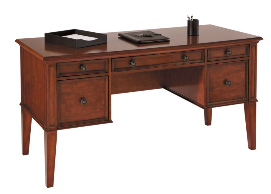 Realspace Picadilly Writing Desk Mahogany by Office Depot