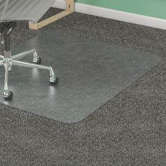 Office Chair Mat 45 X 60 Hanging Walmart Lorell Plushmat For Medium Pile Carpet Clear By Depot & Officemax