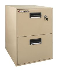 Sentry Safe Vertical Fire And Water Resistant File Cabinet ...