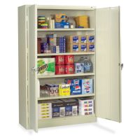 Tennsco Putty Jumbo Storage Cabinet by Office Depot ...
