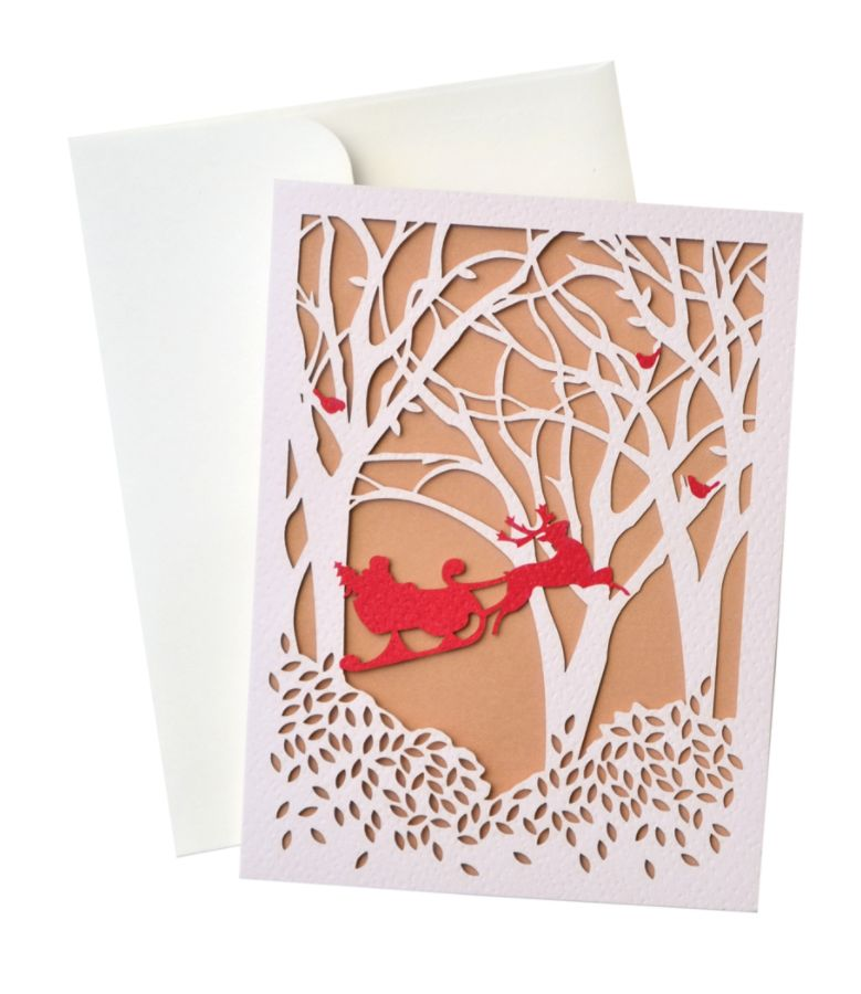 George Stanley Lasercut Greeting Cards With Envelopes 5 12