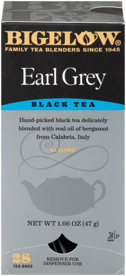 Bigelow Earl Grey Tea Bags Box Of 28 by Office Depot