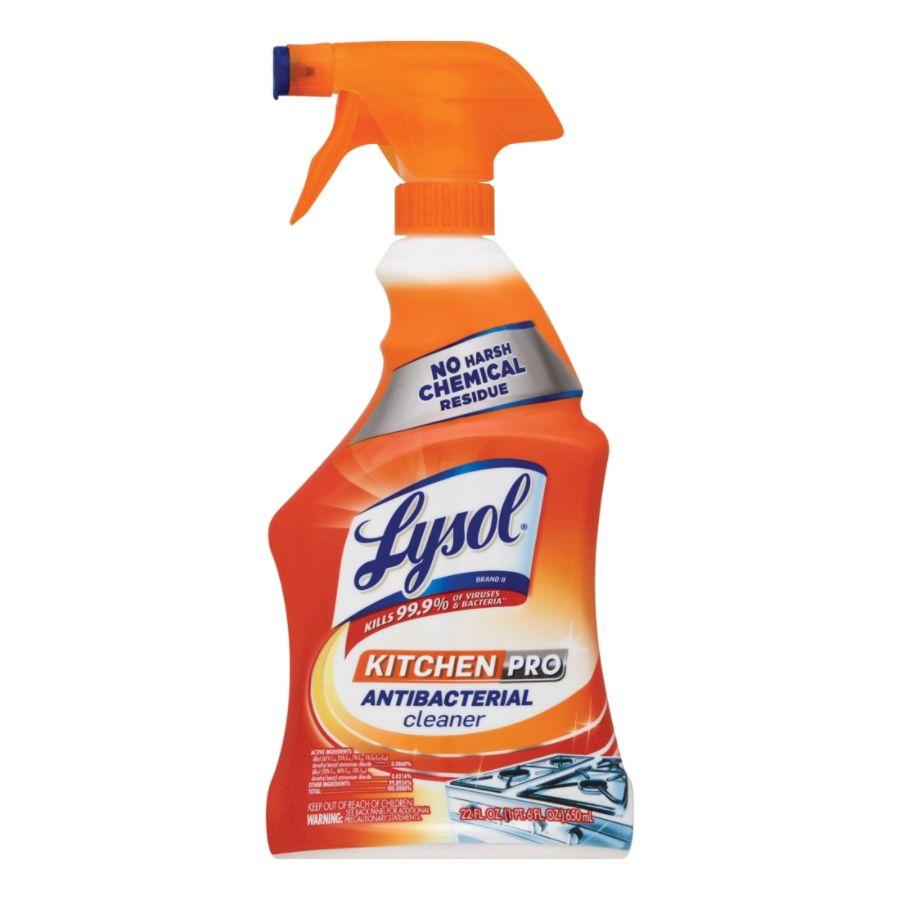 lysol antibacterial kitchen cleaner blanco silgranit sink pro citrus scent 22 oz ...