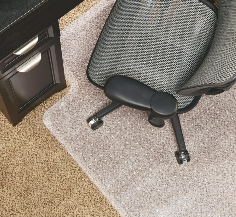 officemax chair mat room and board leather realspace economy for low pile carpets 36 w x 48 d studded standard lip clear by ...
