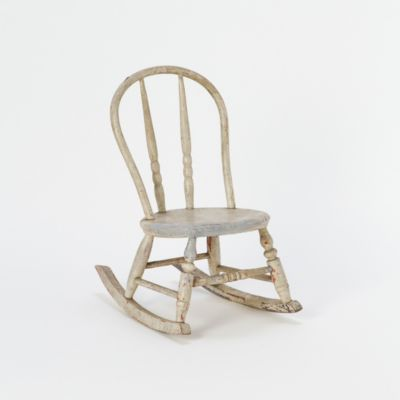 childs wooden rocking chair revolving on gem portal vintage terrain