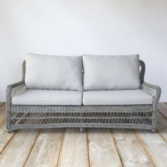 All Weather Wicker Sofa The And Chair Company Limited Curved Terrain