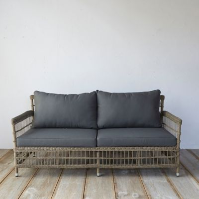 all weather wicker sofa huge sectional belham living monticello