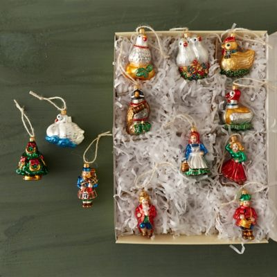 12 Days Of Christmas Ornament Set Terrain