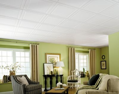 Armstrong Drop Ceiling Tiles