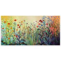 Playful Outdoor All-Weather Canvas Wall Art - Bed Bath ...