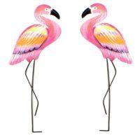 T.I. Design Metal Pink Flamingo Wall Art - Bed Bath & Beyond