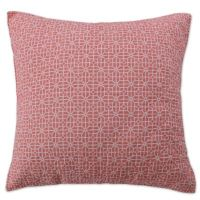Coral Breeze European Pillow Sham in Coral - Bed Bath & Beyond