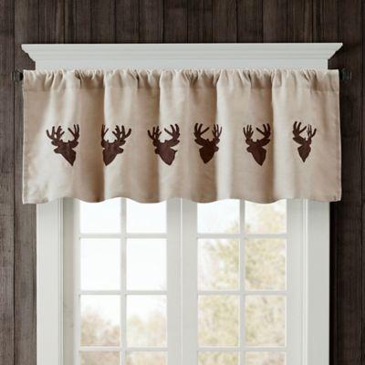 Woolrich Deer Faux Suede Valance Bed Bath Amp Beyond