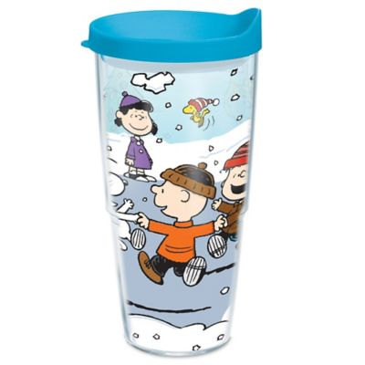Tervis Peanuts Christmas 24 Oz Wrap Tumbler With Lid