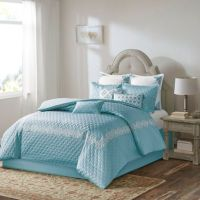 Buy Bombay Emerson California King Comforter Set in Blue ...