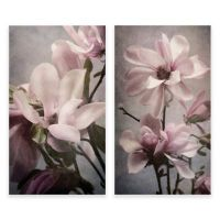 Magnolia Memories 2-Panel Diptych Canvas Wall Art - Bed ...