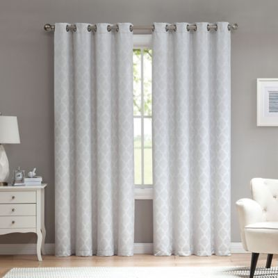 Window Curtains & Drapes Room Darkening Noise Reducing