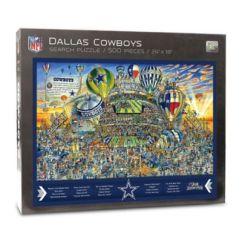 Brand New Kitchen Cost Ceiling Lights Nfl Dallas Cowboys 500-piece Find Joe Journeyman Puzzle ...
