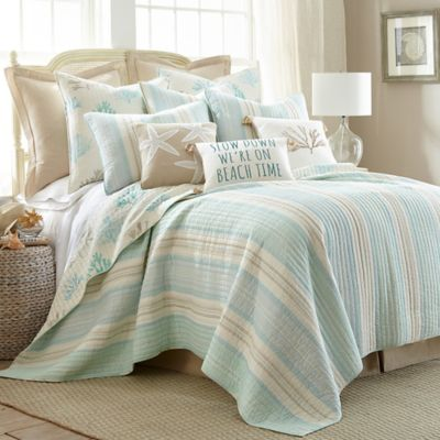 Levtex Home Emerald Reversible Quilt Set  Bed Bath  Beyond