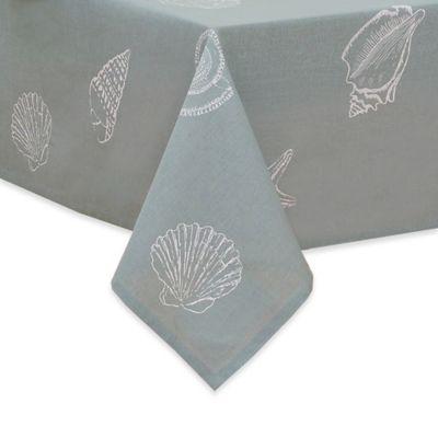 Shell Season Fabric Tablecloth Bed Bath Beyond