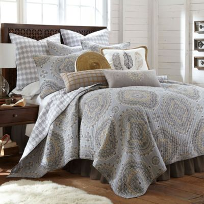 Levtex Home Miren Reversible Quilt Set  Bed Bath  Beyond