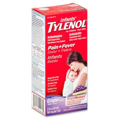 Infant Tylenol® Oral Suspension Pain + Fever In Grape