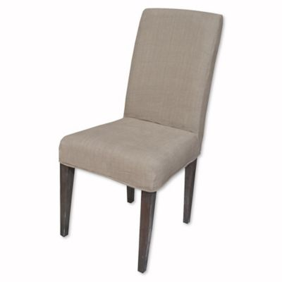 cost plus chair covers wedding for sale buy sterling industries couture slipcover parsons in light brown from bed bath ...